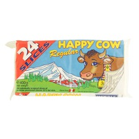 Happy Cow Regular Slices Cheese 400g