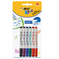 Bic Mini Velleda Kids Marker X6 Ass