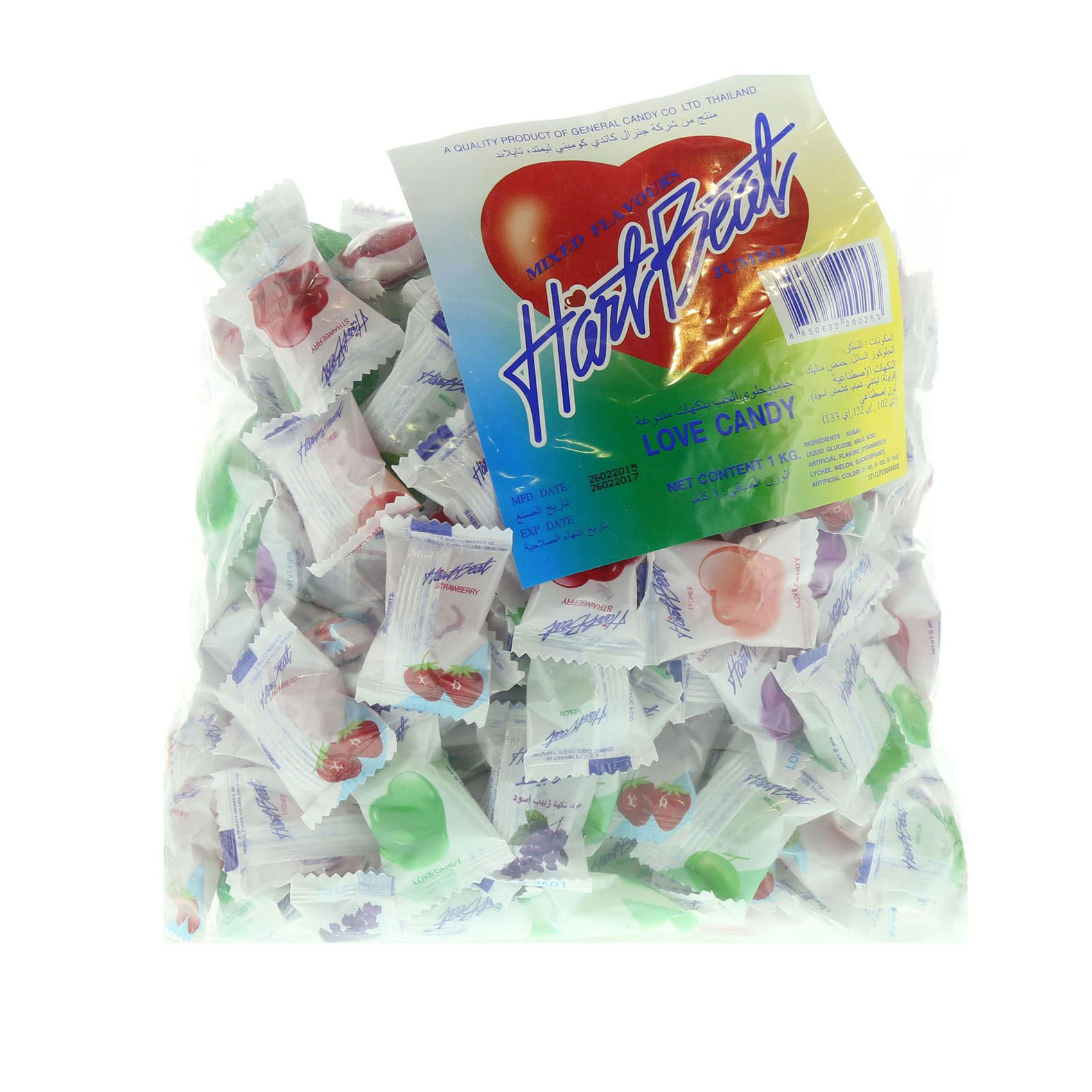 HARTBEAT CANDY MIX FLVR 1KG