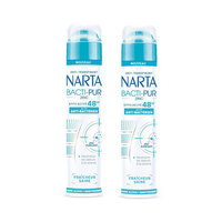 Anti Transpirant Narta Men Deodorant Spray Bacti Pur 200ML X2