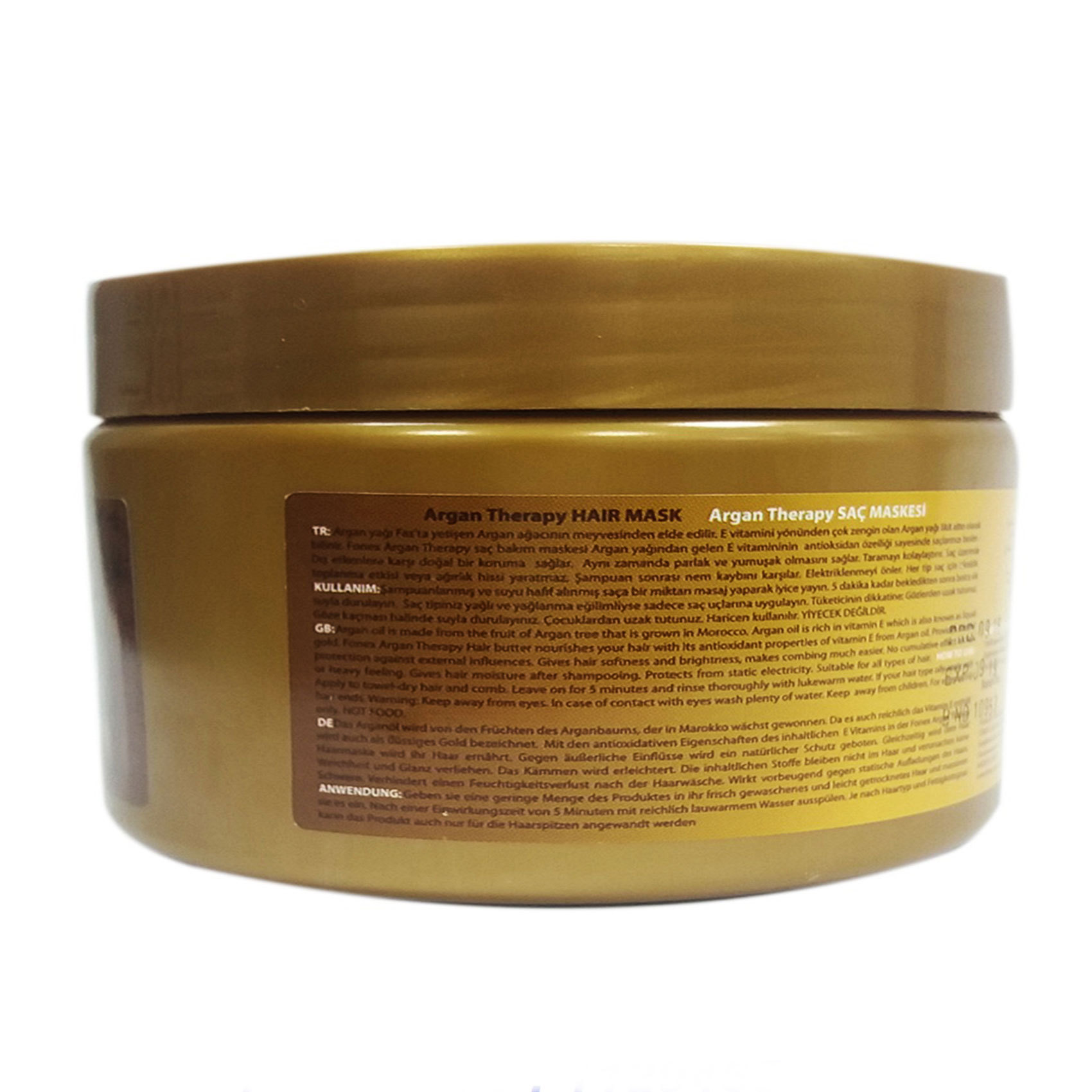 ARGAN THERAPY HAIR MASK 300ML