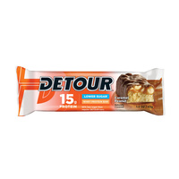 Detour Lower  Sugar Whey Protein Bar Caramel Peanut 43g