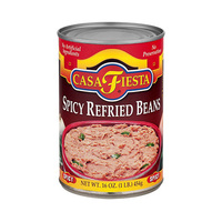 Casa Fiesta Spicy Refried Beans 454GR