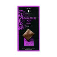 Carrefour Selection Chocolat Noire 60% Coco 80GR