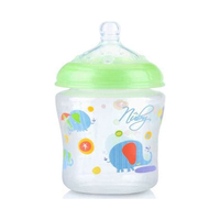 Nuby Printed Silicone Bottle 180ML
