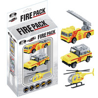 Power Joy Vroom Diecast Dubai Fire Pack