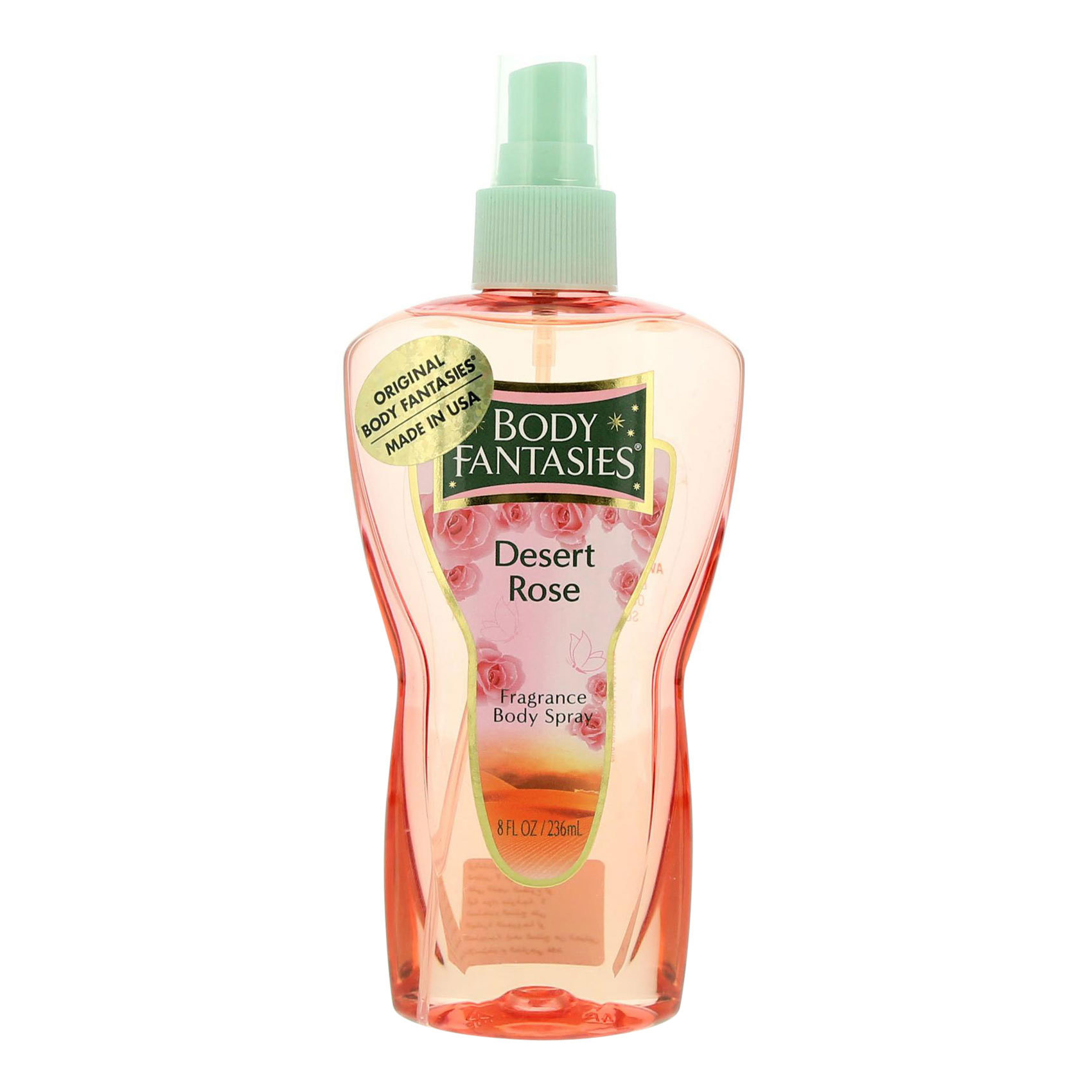 BODY FANTASIES DESERT ROSE BS 8OZ