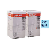 Osram Led Classic Bulb 12 Watt Day Light 2 Pieces