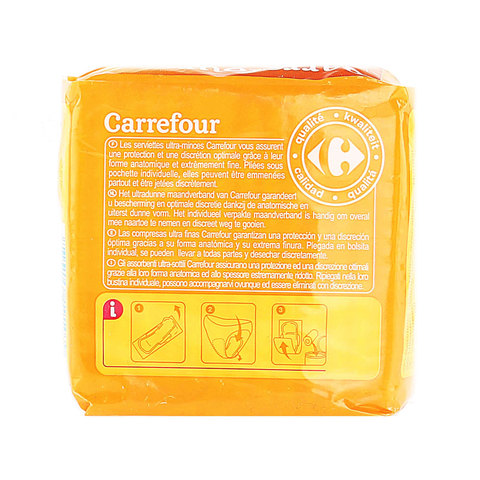Carrefour-Pads-Ultra-Thin-Normal-With-Wings-x14