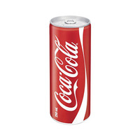 Coca-Cola Soft Drink Can Regular 250ML