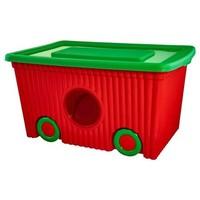 فلورا صندوق لتخزين الألعاب سعة 50 لتر