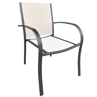 Steel Textline Armchair 56X63X86Cm