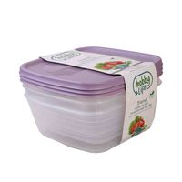 Hobby Life Food Saver 2.5 Liter 3 Pieces Square