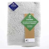 TEX Hand Towel x2 30x50 Light Grey
