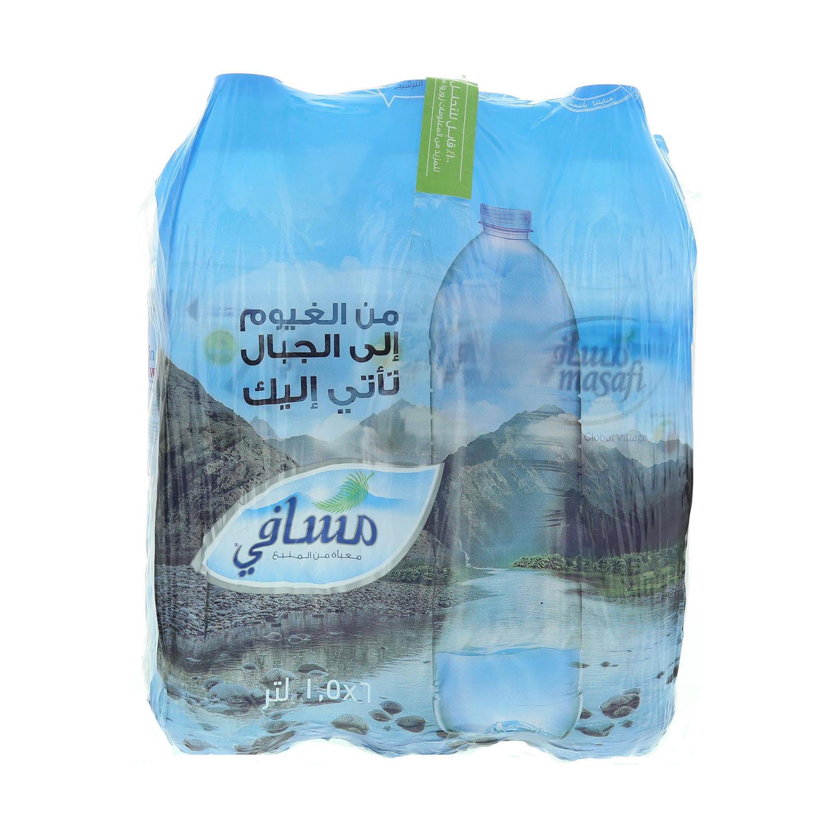 MASAFI MINERAL WATER 1.5LX6