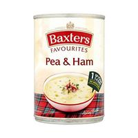 Baxters Favourites Pea & Ham Soup 400GR