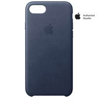 Apple Case iPhone 8&7 Leather Midnight Blue