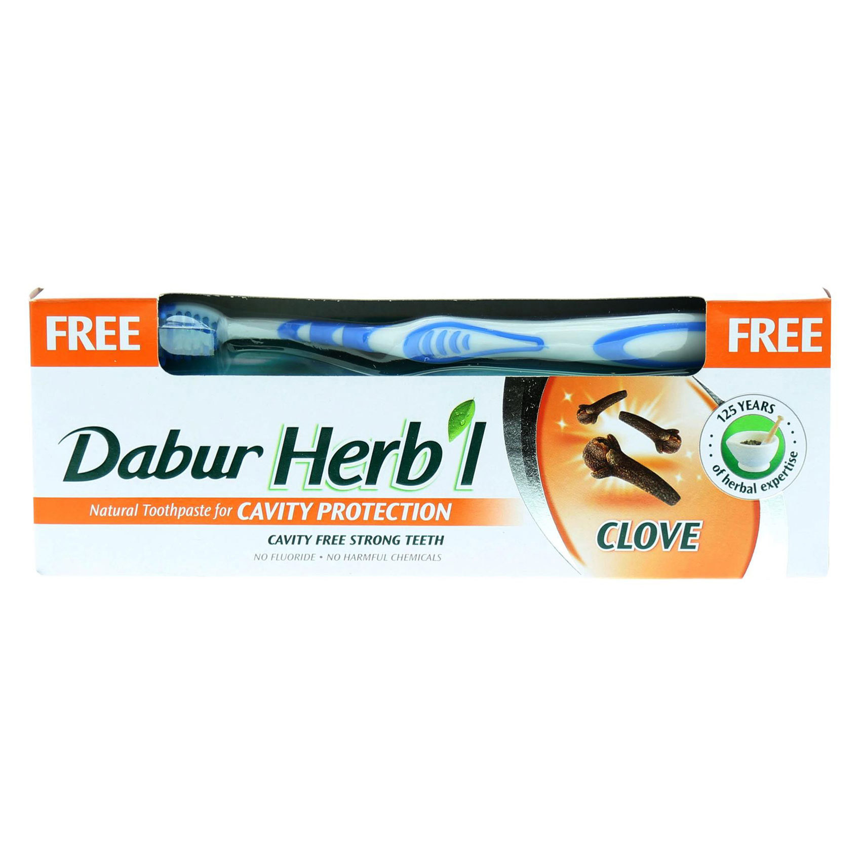 DABUR HERBAL CLOVE 150G BRUSH FRE