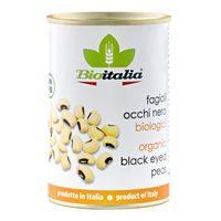 Bioitalia Organic Black-Eyed Peas 400g