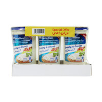 Carrefour Spreadable Processed Cream Cheese 240gx3