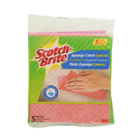 Scotch-Brite Sponge Cloth Classic 5's