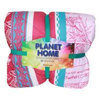 Planet Home Microfiber Comforter 220X240 Crimson