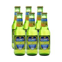 Cedar''s Premium Non-Alcoholic Beer Apple 250ML X6