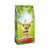 Purina Friskies Adult Dog Active With Beef 10KG