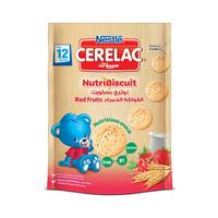 Nestle Cerelac Nutri Biscuit Red Fruits 150 g