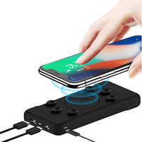 Cellairis Wireless Charger With Power Bank 10000mAh Black