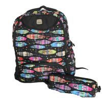 Wires Colors W/Pencil Case Backpack