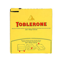 Toblerone Little Minis Swiss Milk Chocolate With Honey & Almond Nougat 100g X20
