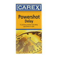 Carex Powershot Delay 12 Condoms