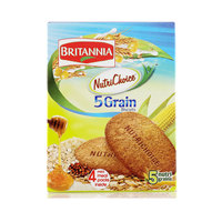 Britannia Five Grain Nutrichoice Biscuits 200g