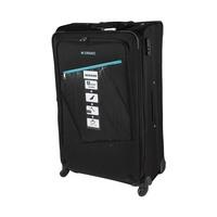 Morano Soft Luggage 4 Wheels Size 32 Inch  Black