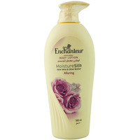 Enchanteur Perfumed Body Lotion Moisture Silk Alluring 500ml