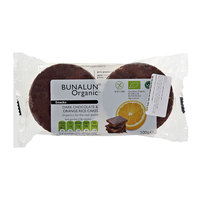 Bunalun Dark Chocolate & Organic Rice Cakes 100g