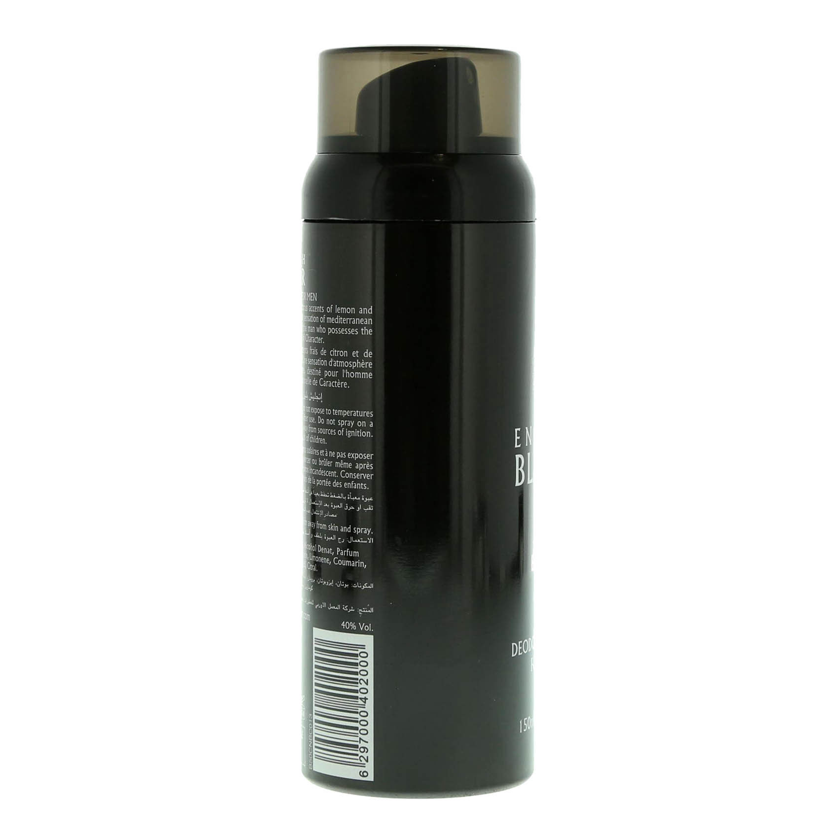 ENGLISH BLAZER BLACK DEO 150 ML
