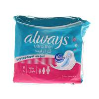 Always Ultra Thin Dry Top-Layer Long 8 Pads