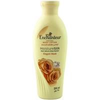 Enchanteur Perfumed Body Lotion Moisture Silk Elegant Musk 250ml