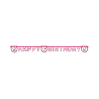 Sanrio Hello Kitty Heart Happy Birthday Banner