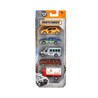 Matchbox Pack Of 5 Assorted Vehicles