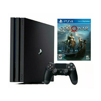 Sony Playstation 4 1TB + 2 Controllers + God Of War 4