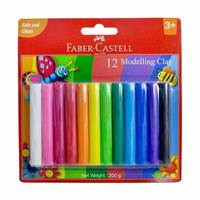 Faber Castell 8Modeling Clay 100G Blis Pack