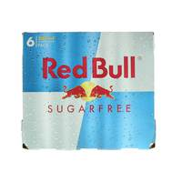 Red Bull Sugar Free Energy Drink 250mlx6