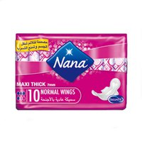 Nana Ladies Pads Thick Maxi Normal Duo 20 Napkins