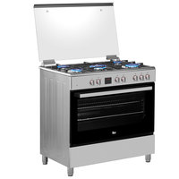 Teka 90x60Cm Gas with Electric Oven Cooker FS 901 5GE SS