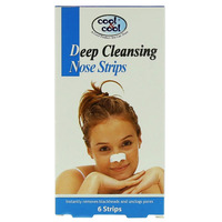 Cool & Cool Deep Cleaning Nose 6 Strips