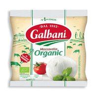 Galbani Bio Organic Mozzarella Ball 125g