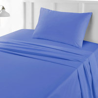 Tendance's Fitted Sheet Single Sky Blue 99X193